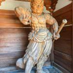 Anrakuji's (Temple 6) Nio Statue