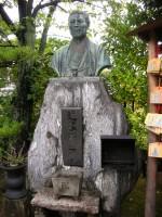 Statue of Kondo Isami at Mibu Temple